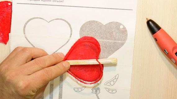 Рисуем 3D ручкой шкатулку и брошь